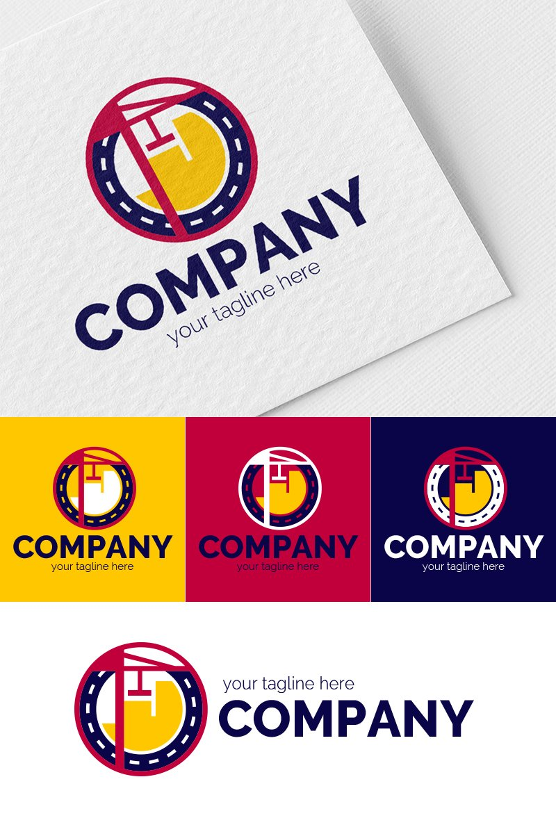 Urban Construction Logo Template