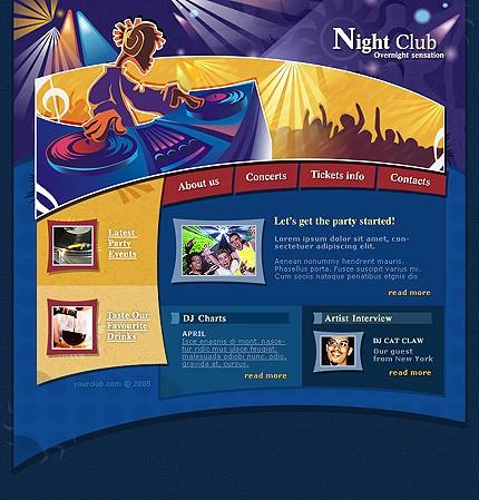 Creare site club de noapte