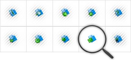 Icon Set Template 8554 Screenshots