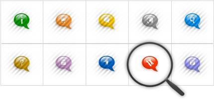 Icon Set Template 8556 Screenshots