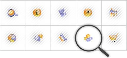 Icon Set Template 8557 Screenshots