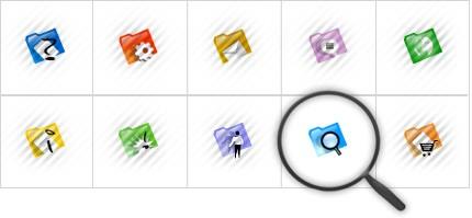 Icon Set Template 8558 Screenshots