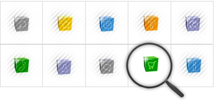 Icon Set Template 8559 Screenshots