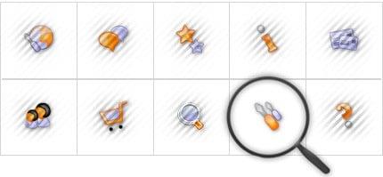Icon Set Template 8561 Screenshots