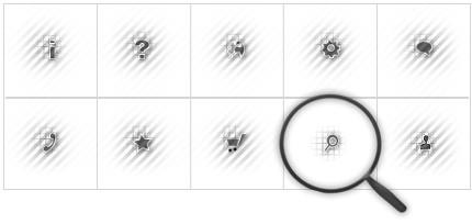 Icon Set Template 8562 Screenshots