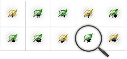 Icon Set Template 8563 Screenshots