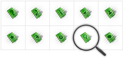 Icon Set Template 8564 Screenshots