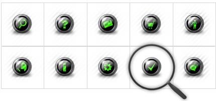 Icon Set Template 8568 Screenshots