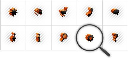 Icon Set Template 8569 Screenshots
