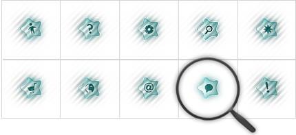 Icon Set Template 8570 Screenshots