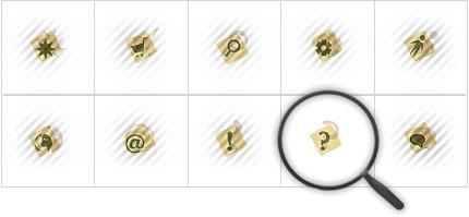 Icon Set Template 8571 Screenshots