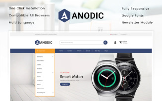 Anodic - Electronics Store OpenCart Template