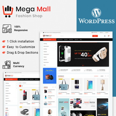 Купить  пофессиональные WooCommerce шаблоны. Купить шаблон #85056 и создать сайт.