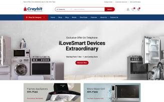 Creybit - Home Appliances WooCommerce Theme