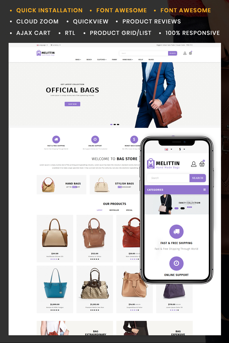 Melittin - Bag Store №85065
