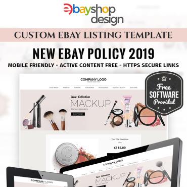 Купить  пофессиональные eBay Templates. Купить шаблон #85121 и создать сайт.