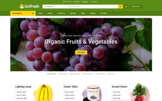 Gofresh - Grocery Store OpenCart Template