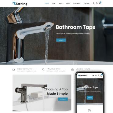Купить  пофессиональные WooCommerce шаблоны. Купить шаблон #85157 и создать сайт.