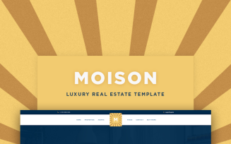 Moison Real Estate Luxury WordPress Theme