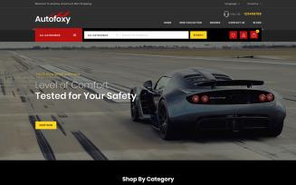 Autofoxy - Auto Spare Parts Shop OpenCart Template