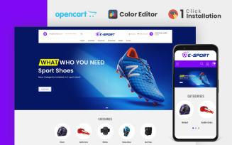 Esport Accessories Store OpenCart Template