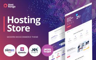 Host Rongo - Hosting Store ECommerce Modern Elementor WooCommerce Theme