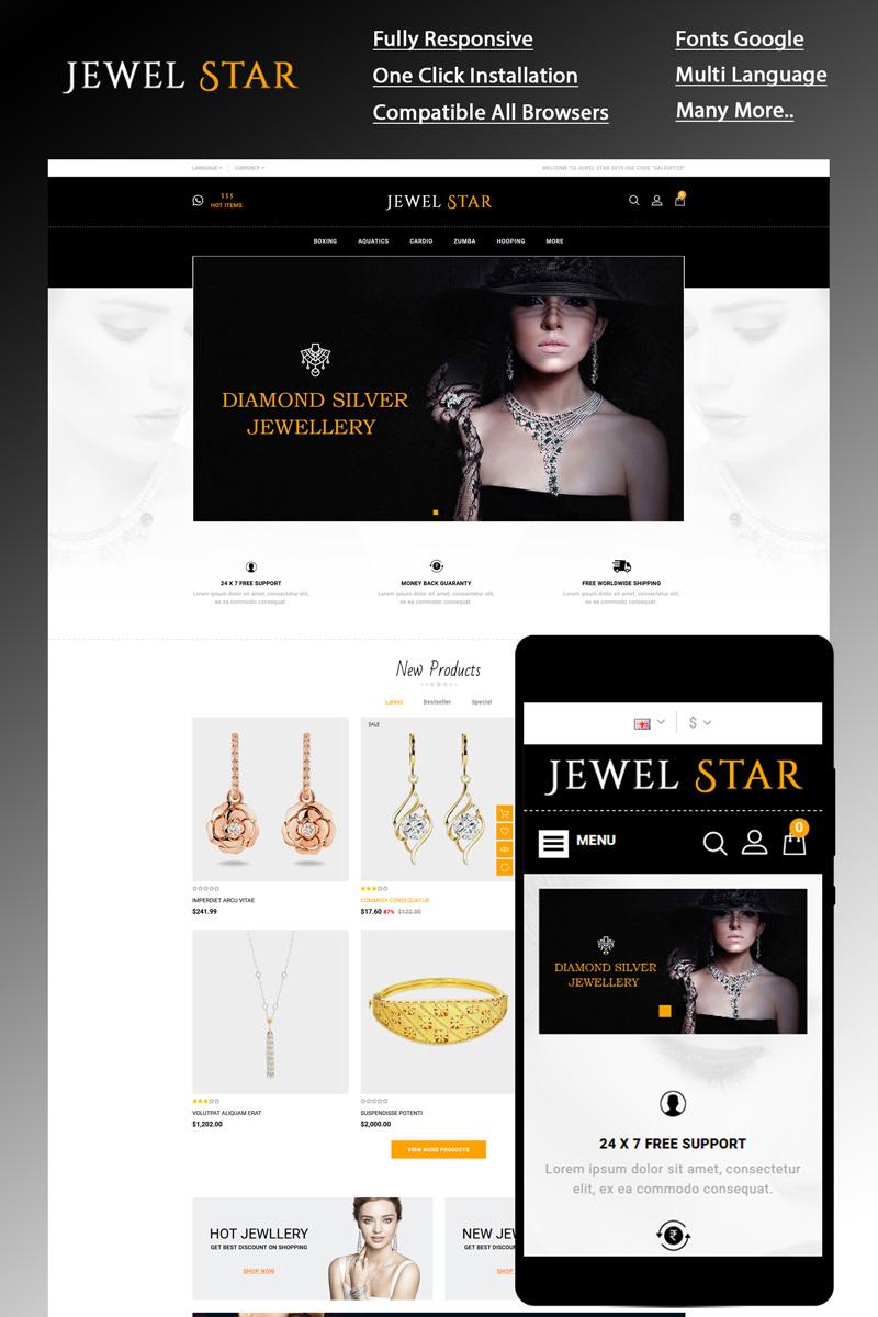 """Jewelstar"" thème OpenCart  #85155"