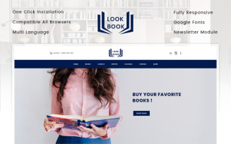 Look Book Store OpenCart Template