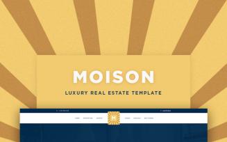 Moison Real Estate Luxury WordPress Theme
