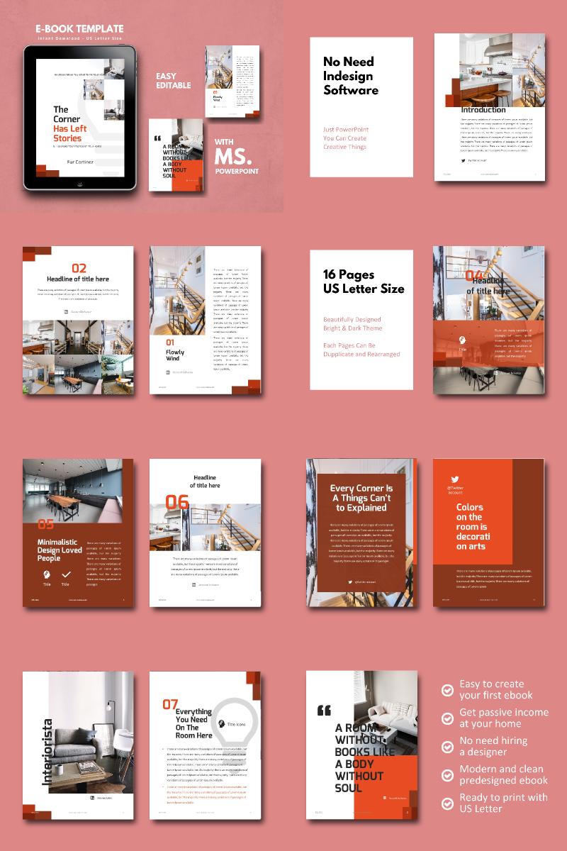 Interior eBook Presentation PowerPoint Template
