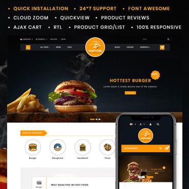 Купить  пофессиональные OpenCart шаблоны. Купить шаблон #85251 и создать сайт.