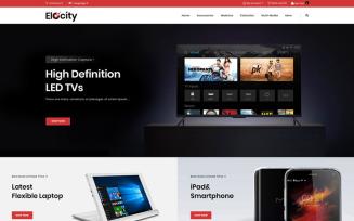 Elocity - Digital Store OpenCart Template