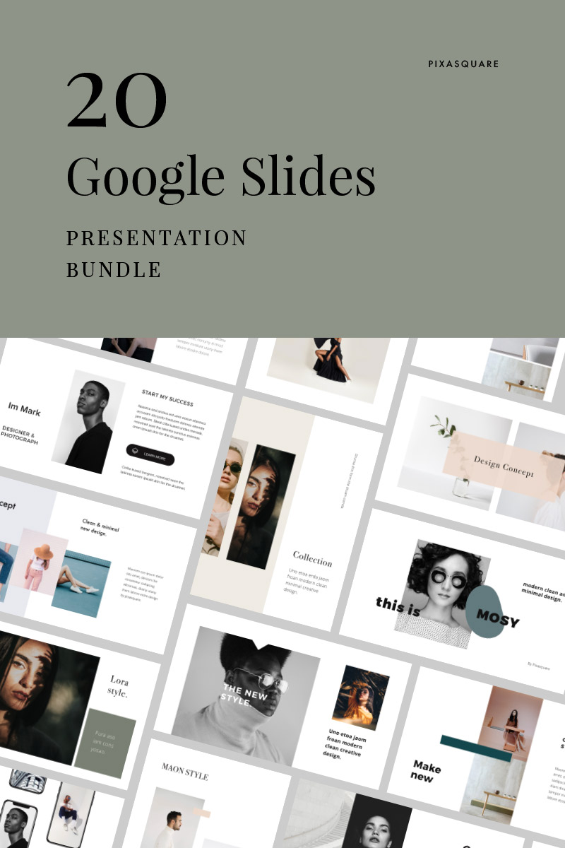 """Google Slides """"Bundle - 17 Presentation"""" #85222"""