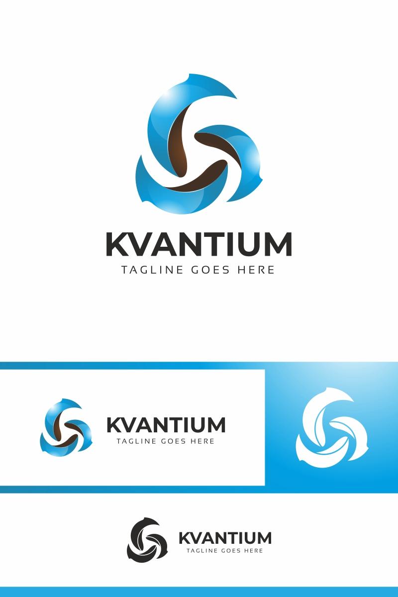 Kvantium - Abstract Rotation Logo Template