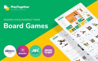 PlayTogether - Board games hop Elementor WooCommerce Theme