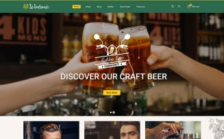 Wintenic - Drink and Wine Store WooCommerce Theme