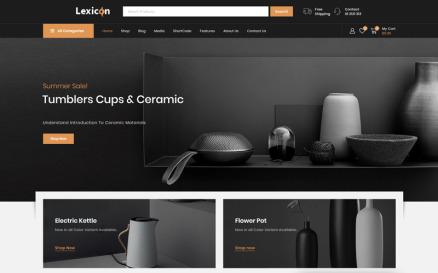 Lexicon - Art & Gallery Shop WooCommerce Theme