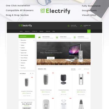 Купить  пофессиональные Shopify шаблоны. Купить шаблон #85332 и создать сайт.