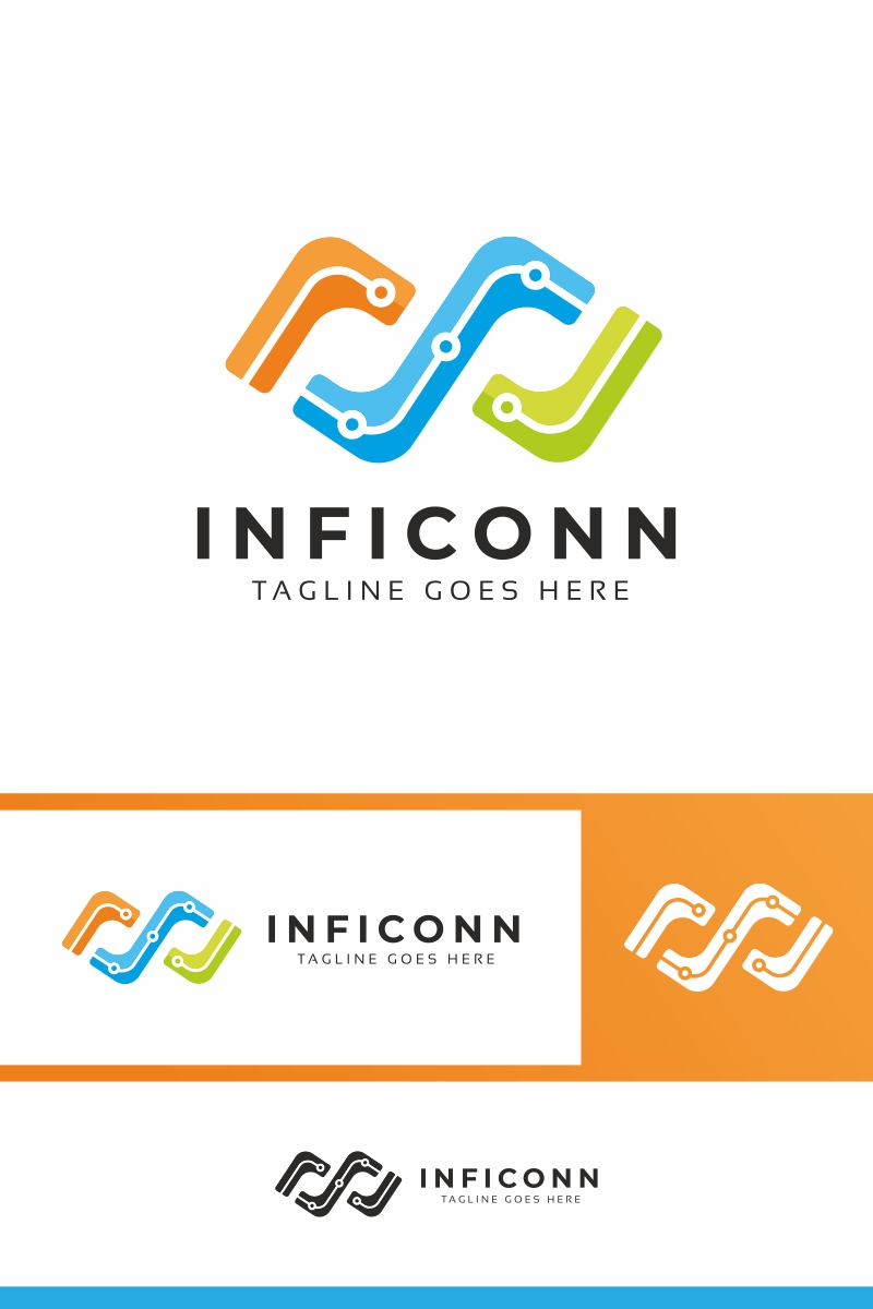 Infinity Connection Logo Template