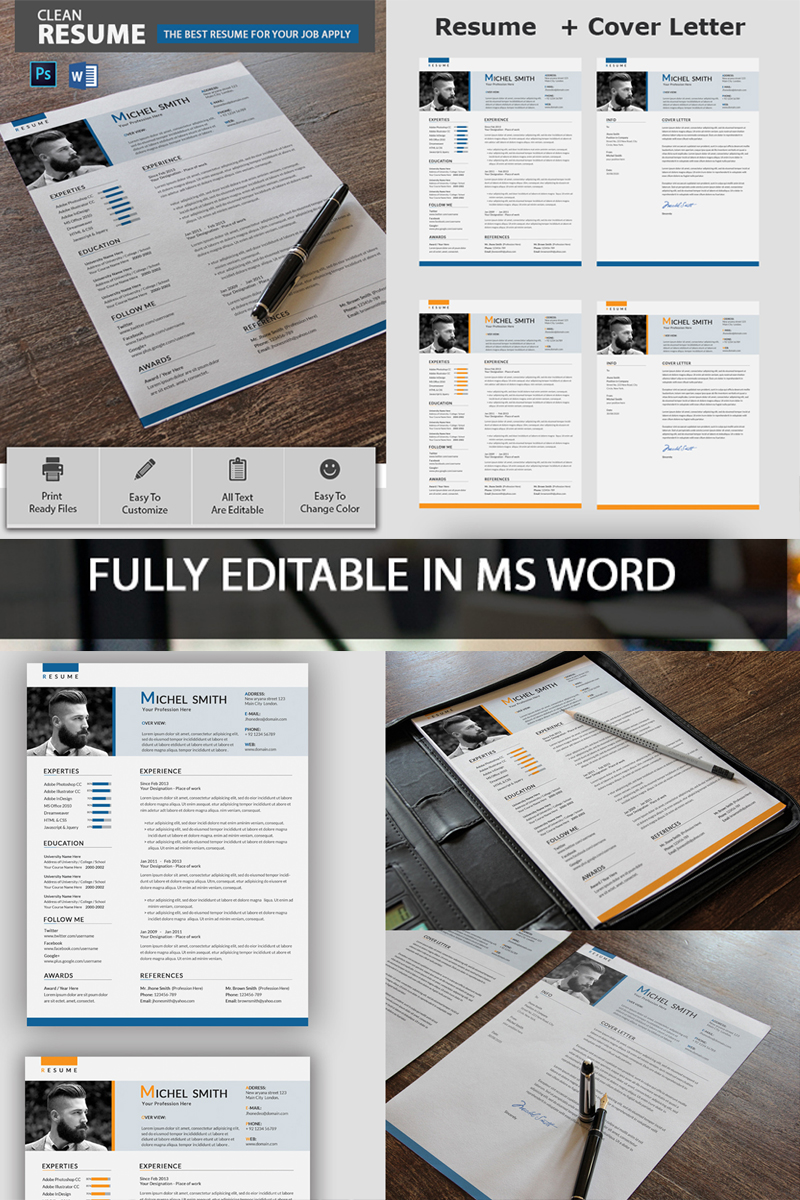 Michel Smith Resume Template