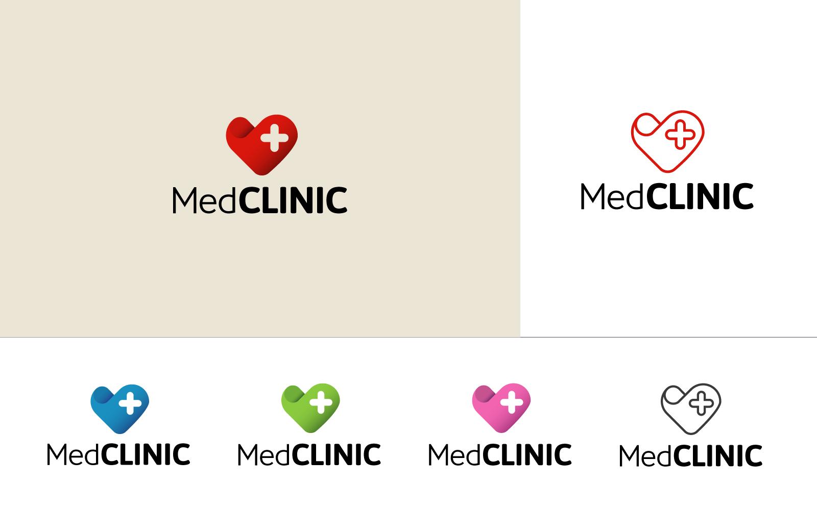 """Modello di Loghi #85337 """"MedClinic"""""""