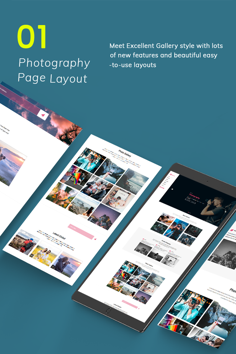 Photio Responsive Landing Page Template