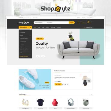 Купить  пофессиональные WooCommerce шаблоны. Купить шаблон #85469 и создать сайт.