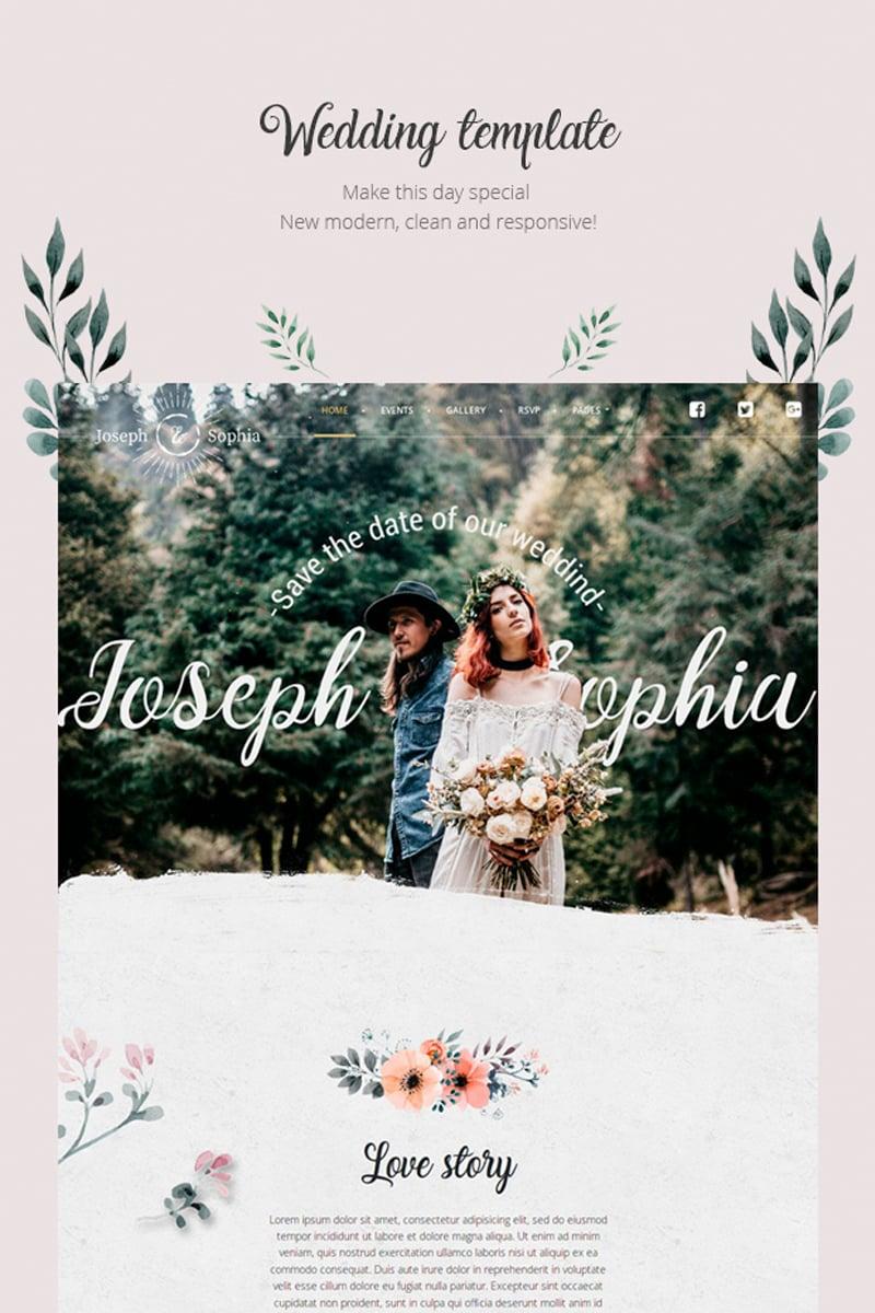 QueenFlowers - Wedding Tema WordPress №85470 - captura de tela