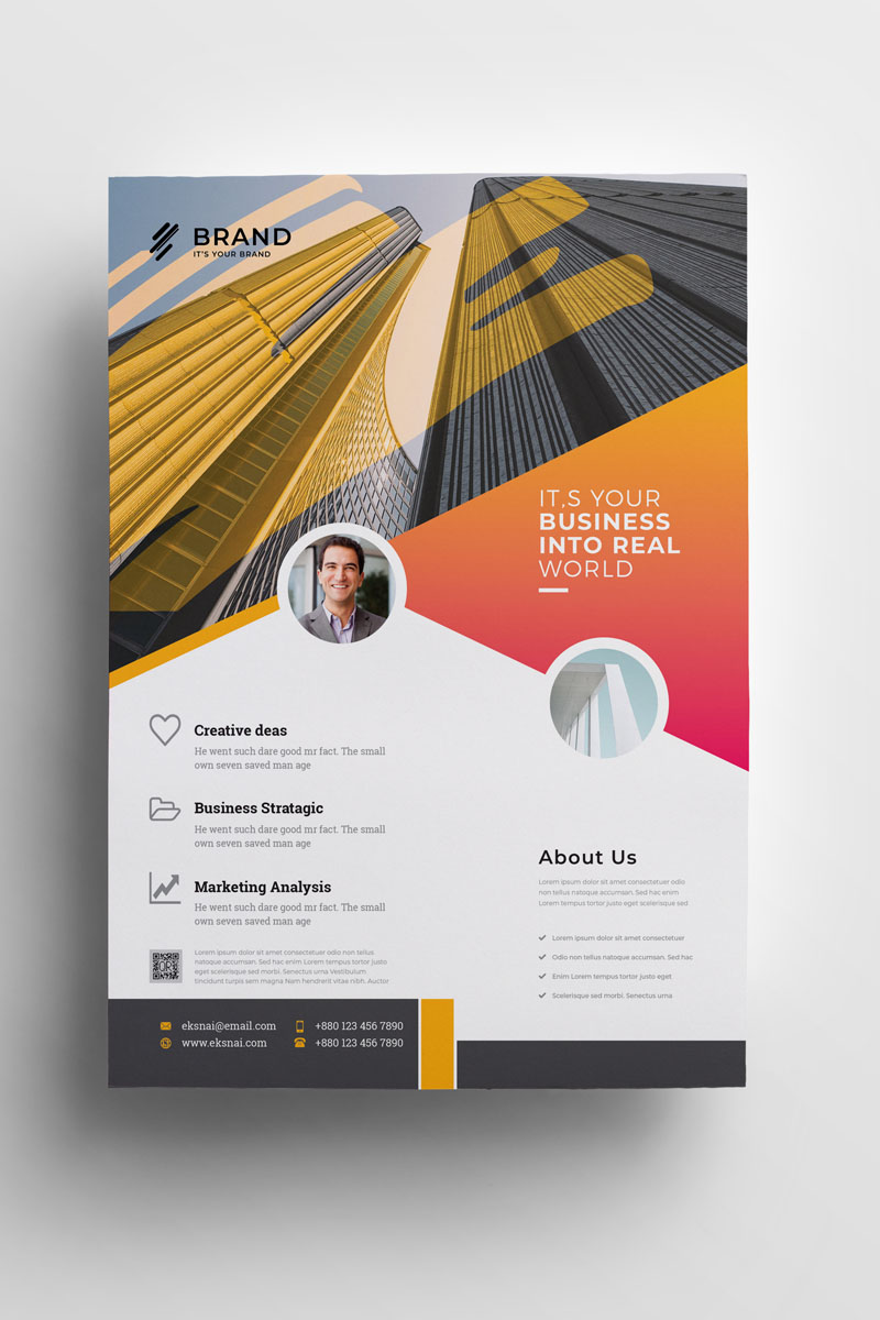 Brand - Flyer Corporate Identity Template - screenshot