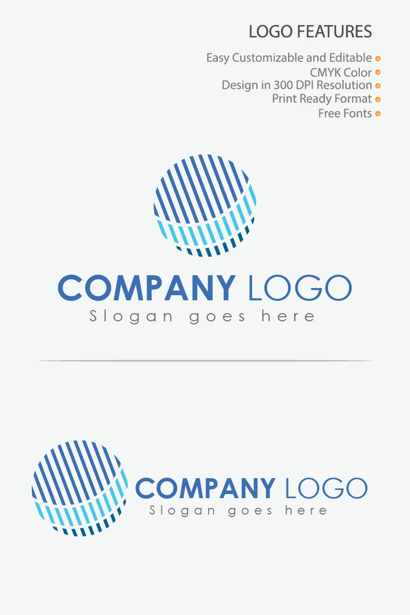 Creative Circle Design Logo Template