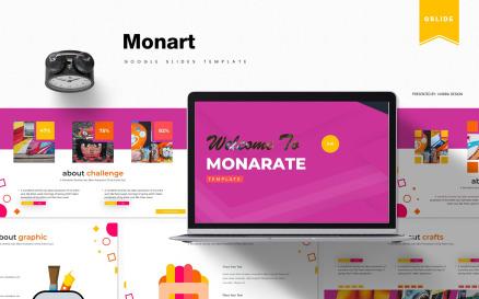 Monart   Google Slide
