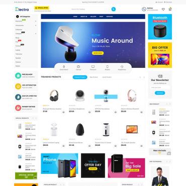 Купить  пофессиональные Shopify шаблоны. Купить шаблон #85946 и создать сайт.