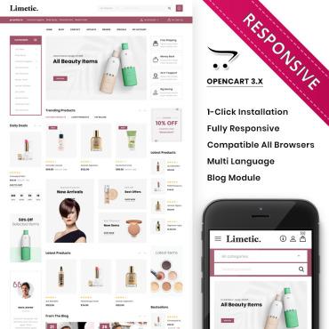 Купить  пофессиональные OpenCart шаблоны. Купить шаблон #85947 и создать сайт.