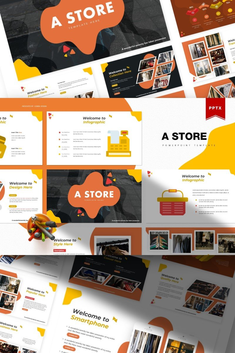 A Store | PowerPoint Template